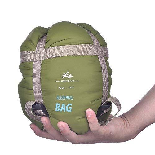 BESTEAM Ultra-light Warm Weather Envelope Sleeping Bag, 75