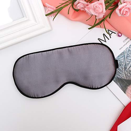 (Bull Shark Eye Mask Sleep Mask Blindfold,Natural Silk Super Smooth Eyeshade,100% Blackout Lightweight No Pressure On Your Eyeballs,Adjustable Head Strap,Sleep Anywhere Anytime)