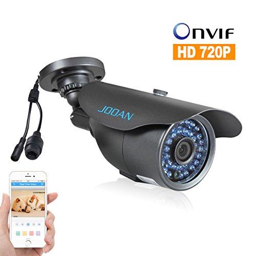 JOOAN 703KRA 1 Megapixel 720P HD Indoor / Outdoor IP Camera Surveillance Security Camera with 3.6mm Lens - No Power Supply