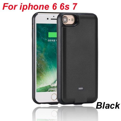 Recargable para iPhone 7 6 6S 3000 mAh Qi cargador ...