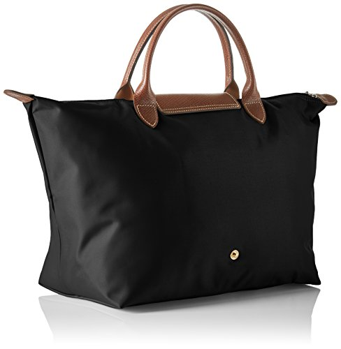 Medium Noir Pliage Longchamp sac main à Schwarz Y5xAqBw