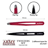 The Army Painter 2-Piece Precision Tweezers Set of
