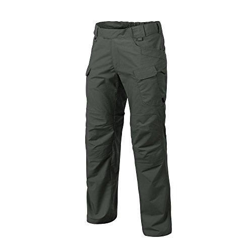 Helikon-Tex Urban Line, UTP Urban Tactical Pants Ripstop Jungle Green, Military Ripstop Cargo Style, Men's Waist 34 Length 32 (Jungle Tactical)