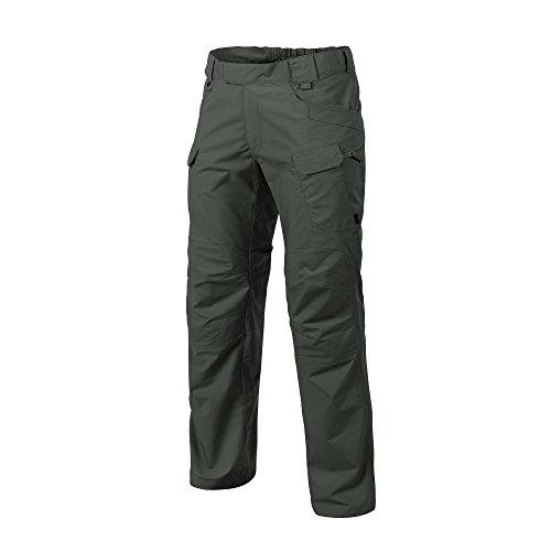 (Helikon-Tex Urban Line, UTP Urban Tactical Pants Ripstop Jungle Green, Military Ripstop Cargo Style, Men's Waist 30 Length 32)