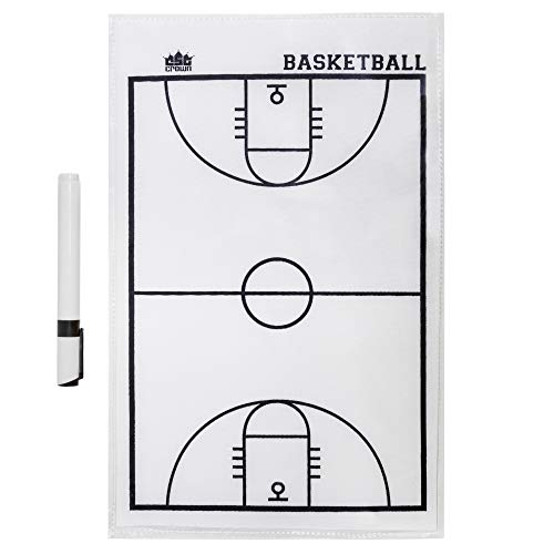 Crown Sporting Goods Dry Erase Basketball Coaches Strategy & Tactic Sheet - 14