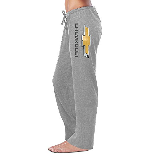 runy-womens-chevrolet-logo-slim-sports-jogging-sweatpants
