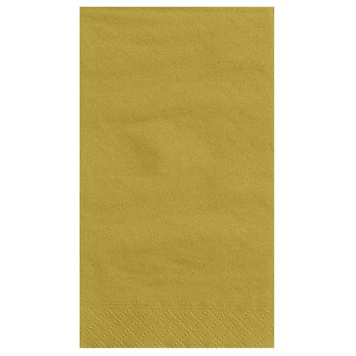 Gold Paper Guest Napkins 20ct