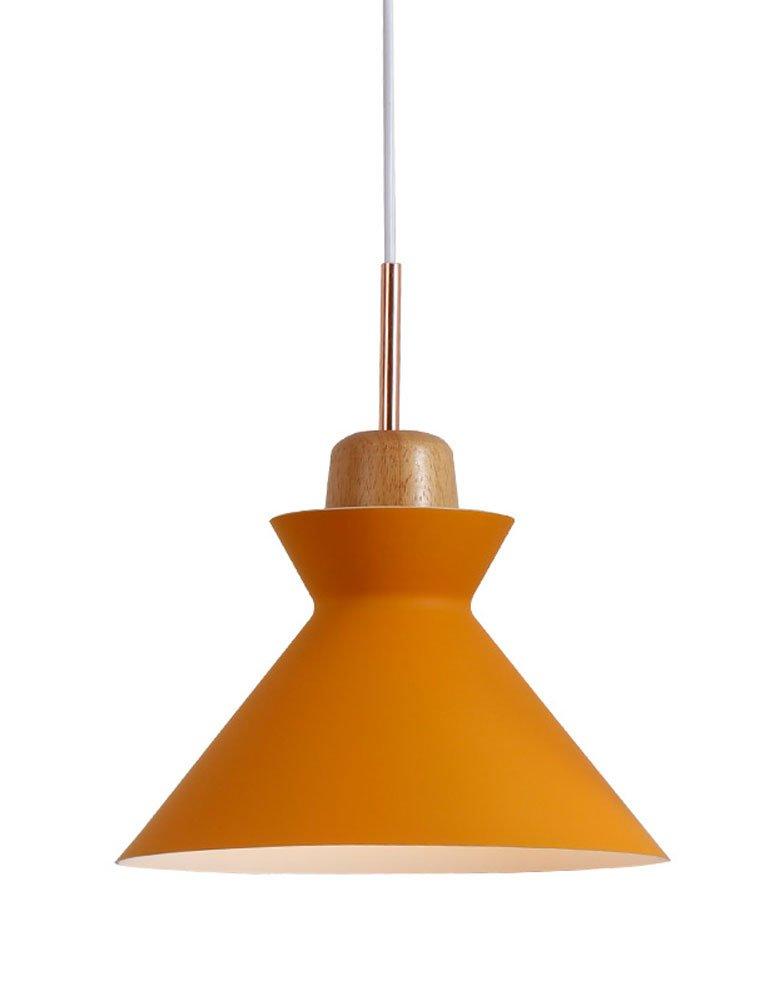 Cozyle Multicolor Modern Creative Hanging Light Aluminum Shades Yellow2 25cm