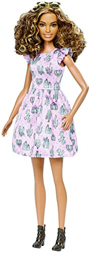 Barbie Fashionistas 67 Cactus Print Dress Doll