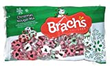 Brach's Christmas Nougats Mix Peppermint Wintergreen Cinnamon 11oz (1 Bag)