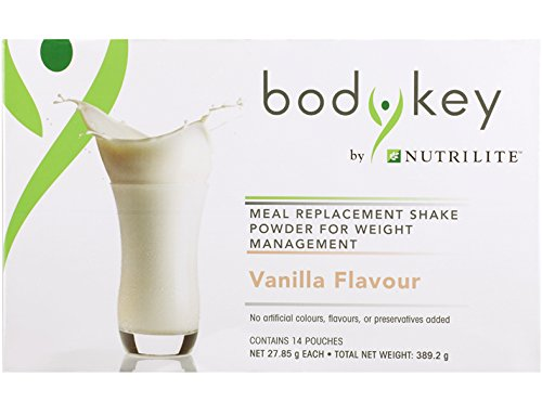 8 x Amway BodyKey by Nutrilite Meal Replacement Shake ( Vanilla ) by Amway