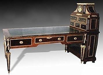 Barock Schreibtisch Antik Stil Bureau Plat MoSr0267Reg: Amazon.de ...