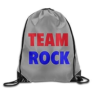 YesYouGO Team Rock Unisex Drawstring Backpacks/Bags