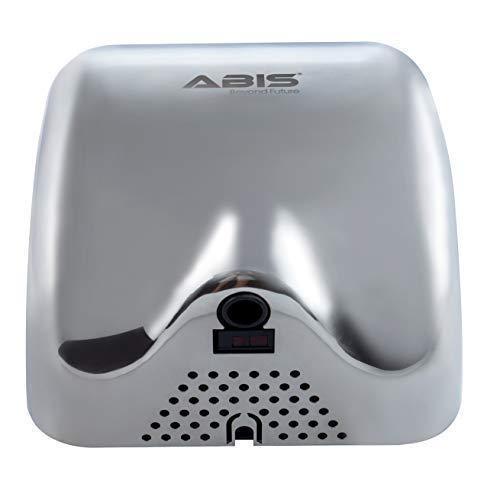 ABIS Secador de manos alta velocidad eléctrica automática comercial de acero inoxidable para servicio pesado: Amazon.es: Hogar