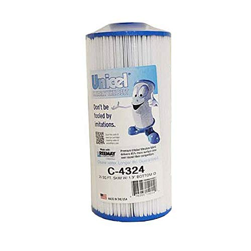 (Unicel C-4324 Replacement Filter Cartridge for 25 Square Foot Pleatco Skim Filter, Spa Manufacturers, Gatsby Spas)