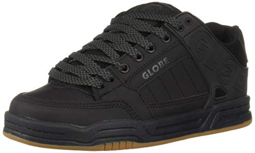 Globe Kids Shoes - Globe Boys' Tilt Skate Shoe, Dark Shadow/Phantom 3 M US Little Kid
