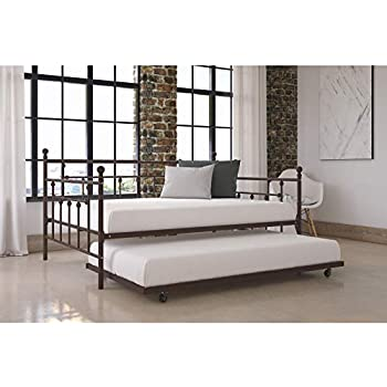 Amazon Com Sturdy Manila Full Size Daybed With Twin