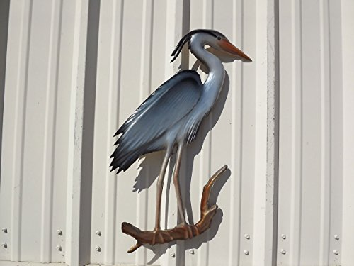 28'' Blue Heron Half Mount Replica , Fishing Wall & Coastal Decor by Mount This Fish Company (Image #5)