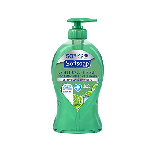 Softsoap Liquid Hand Soap Pump, Antibacterial Fresh Citrus, 11.25 Ounce