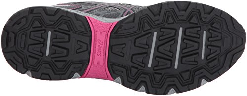 ASICS Women's Gel-Venture 6 Running-Shoes,Carbon/Black/Pink Peacock,9 Medium US by ASICS (Image #3)