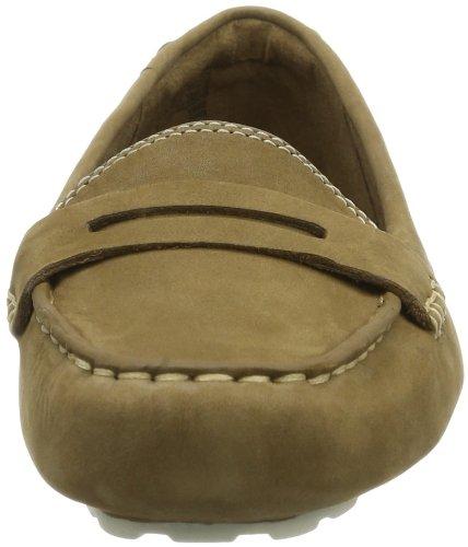 Timberland EK NEPONST SLIPON BR BROWN C8033A - Mocasines de cuero para mujer, color marrón, talla 36: Amazon.es: Zapatos y complementos