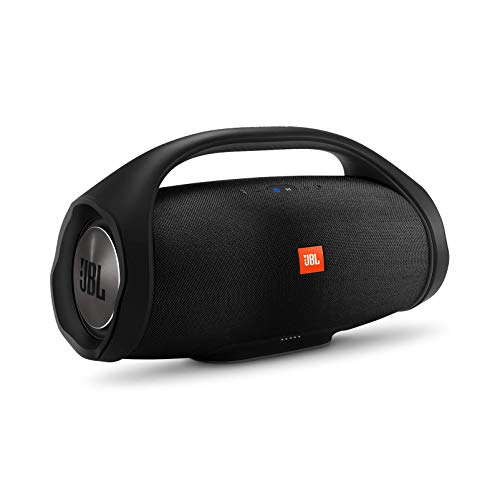 (JBL Boombox, Waterproof portable Bluetooth speaker with 24 hours of playtime - Black)