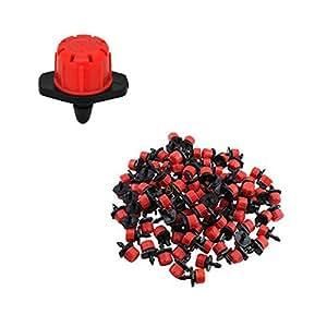 Gotero regulable rojo 0-49 l/h Variflow. 100 unidades