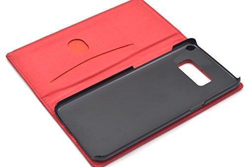 PLATA Galaxy S8 ケース 手帳型 ラム シープスキン 羊革 本革 レザー カバー 【 ネイビー 紺 ねいびー navy 】