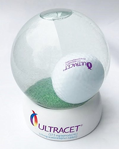 golf-ball-tee-challange-water-globe-ultracet-watson-pharmaceutical-advertising-45-inches-tall