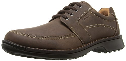ECCO Men's Fusion II Tie Casual Oxford, Cocoa Brown, 44 EU/10-10.5 M -
