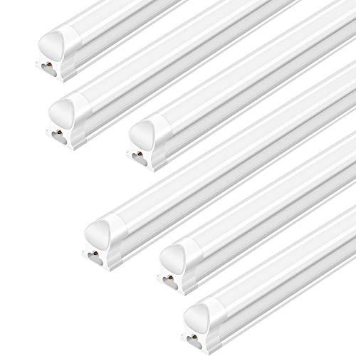 Antlux Linkable 4ft Led Shop Lights For Garage 25w T8