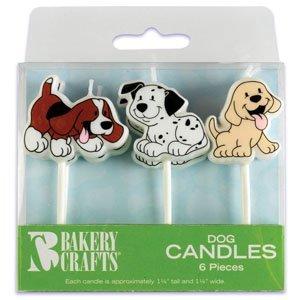 Puppy Dog Cake Candles product image