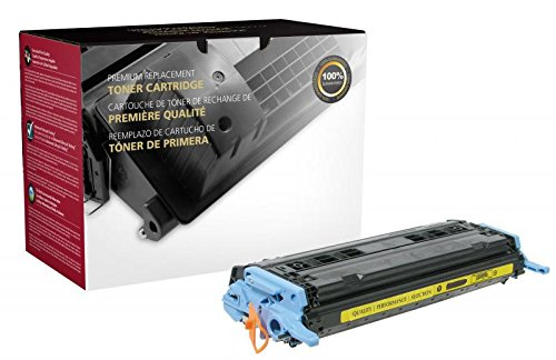 HP Compatible CIG Remanufactured Yellow Toner Cartridge for HP Q6002A (HP 124A)