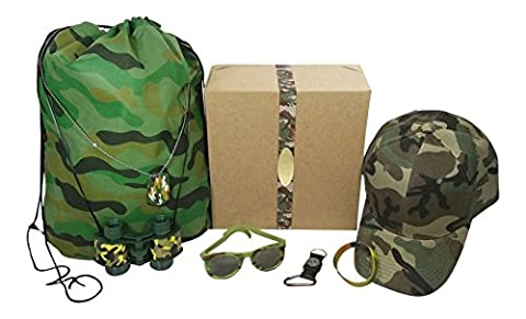 Kids Camouflage Toy Bundle with Gift Box