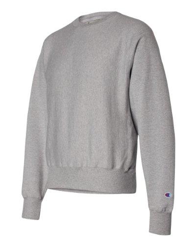 Champion Reverse Weave Fleece Sweatshirt, Medium, Oxford Grey (dark grey)