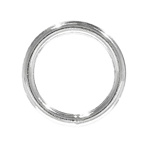 Craft County Metal O-Rings (Welded Steel, 1 Inch X 10 Pack)