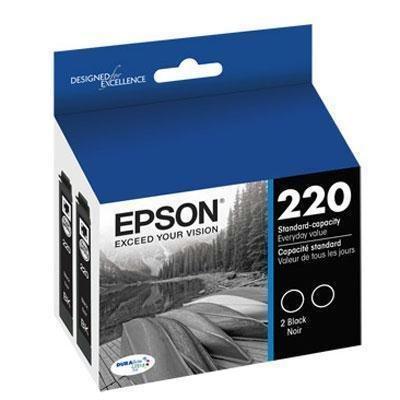 Epson T220120 (220) DURABrite Ultra Ink, Black (Epson 220 Inks)