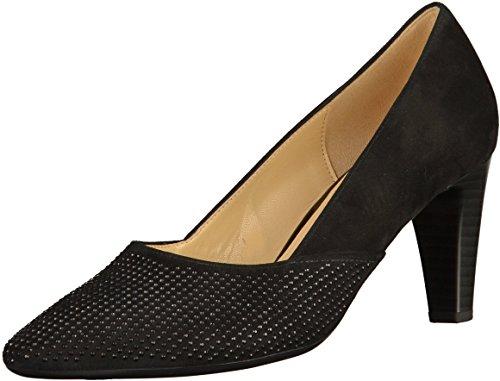 Gabor Women's Fashion Closed Toe Heels Black kQVaIO4Bhh