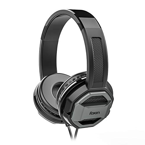 Foxin FHM-307 Big BASS Over-Ear Wired Stereo Headphones