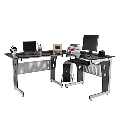 Desk L-shaped Modern (HomCom 65