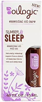 Slumber & Sleep Essential Oil Lavendar Blend Roll-on. Gentle & Safe Aromatherapy for Baby and Toddler Bedtime .45oz