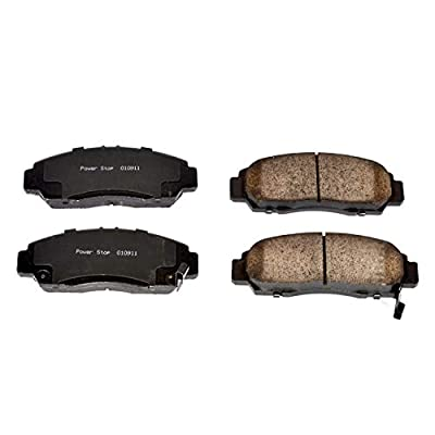Power Stop 16-787 Z16 Evolution Front Ceramic Brake Pads: Automotive