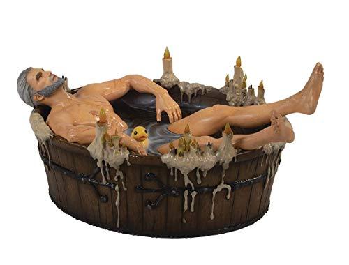 Dark Horse Deluxe The Witcher III: The Wild Hunt: Geralt in Bath Polyresin Statuette