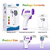 XDX Digital Infrared Thermometer for Adults, Non