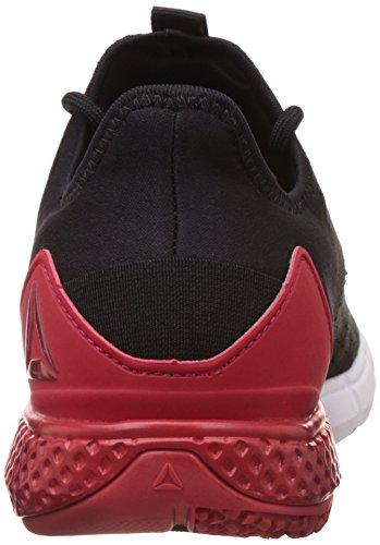 Reebok Bd4754, Zapatillas de Deporte para Hombre Negro (Negro (Black /     Excellent Red /     White /     Ash Grey)