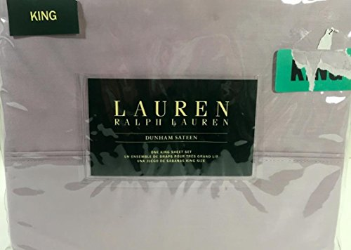 - New Lauren By Ralph Lauren Dunham Sateen King Sheet Set