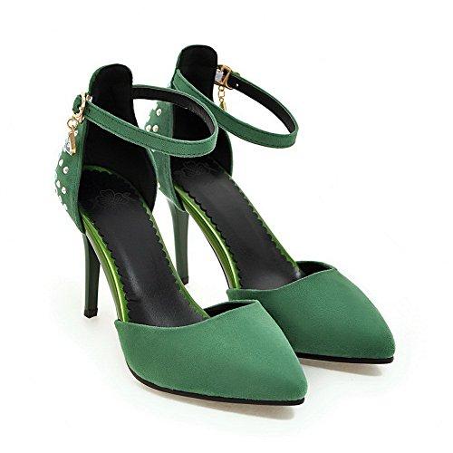 Green 35 Verde con 1TO9 Zeppa Donna Sandali AKgCFwqX
