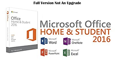 Microsoft Office Home And Student 2016 Windows Full Version| 1 User Pc Key Card