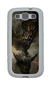 Steampunk Sci Fi Fantasy Cities Art Ships Boat Custom TPU Rubber Soft Case and Cover for Samsung Galaxy S3 /S...