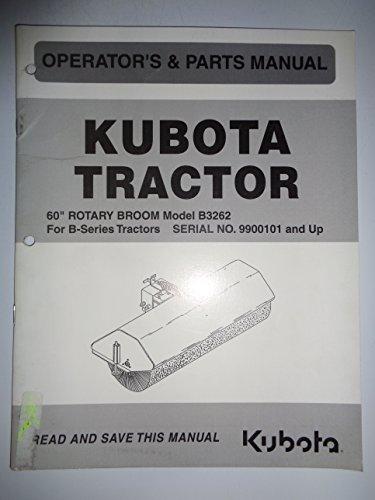 - Kubota B3262 60